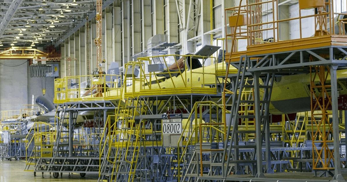 Будівництво винищувачів Су-35. 2020 рік. Фото: ЗМІ РФ