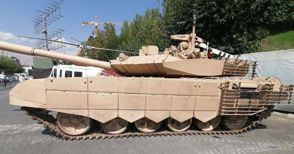 Танк Ірану «Karrar». Листопад 2020. Фото: ЗМІ Ірану