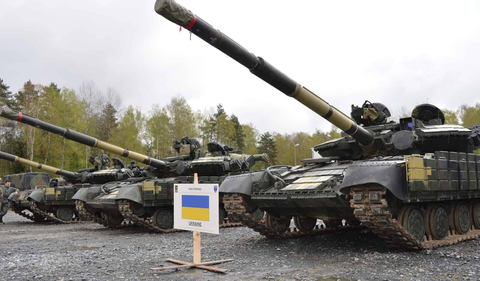Українські танки Т-64БВ у Німеччині для змагань на Strong Europe Tank Challenge 2017