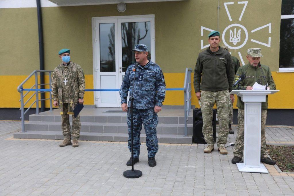 Морські піхотинці отримали нову казарму. Церемонія відкриття казарми для 35 ОБрМП. Фото: АрміяInform