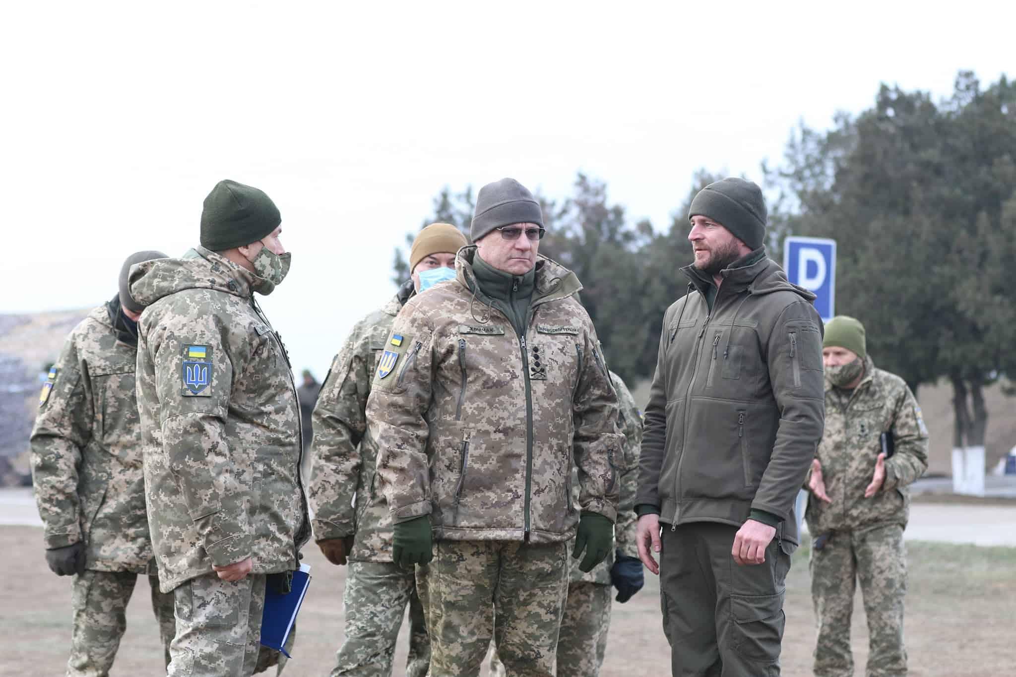 Головнокомандувач ЗС України генерал-полковник Руслан Хомчак