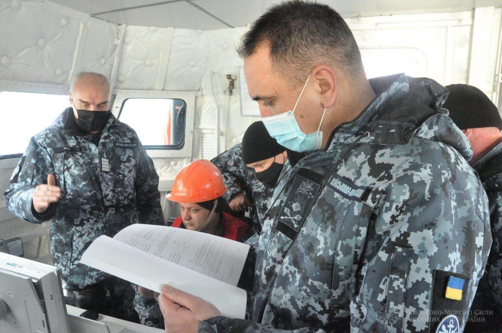 Командувач Військово-Морських Сил Збройних Сил України контр-адмірал Олексій Неїжпапа