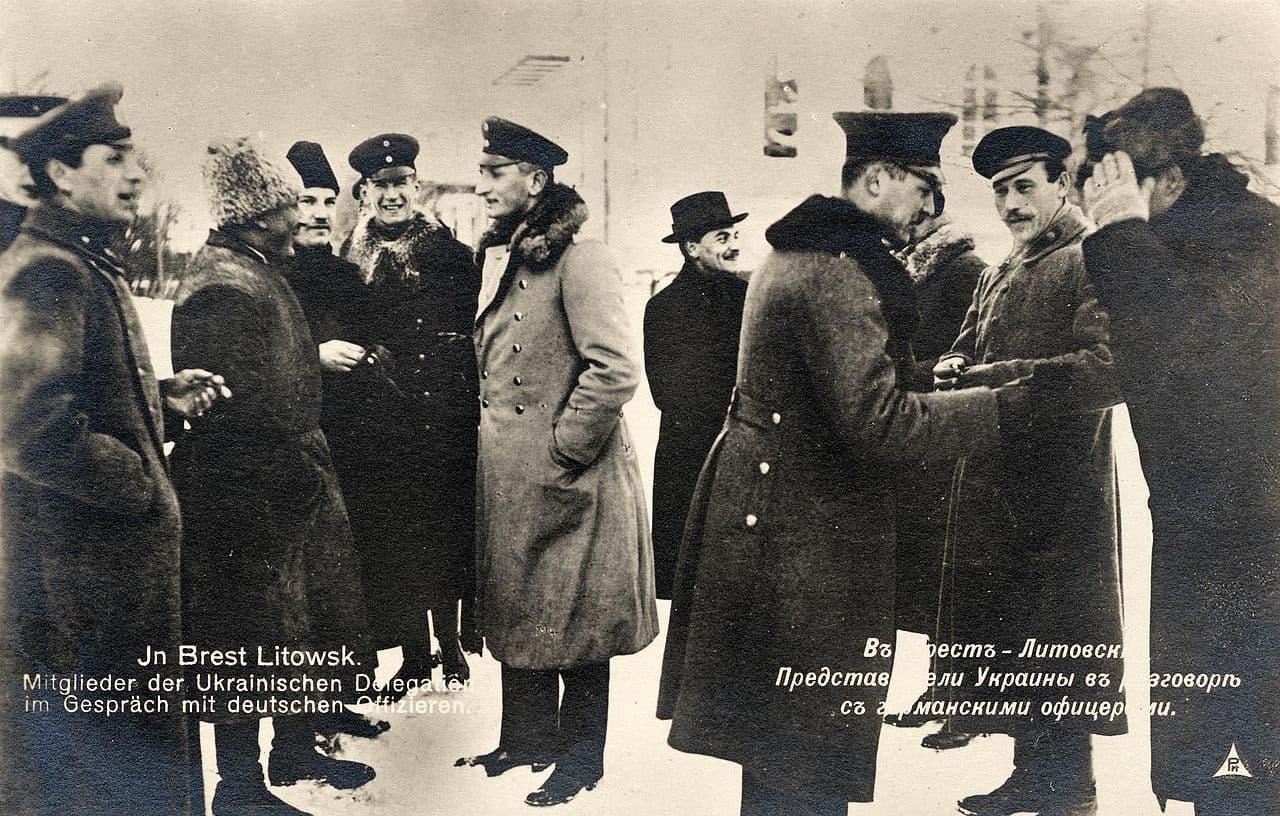 Делегація УНР на переговорах у Бересті
