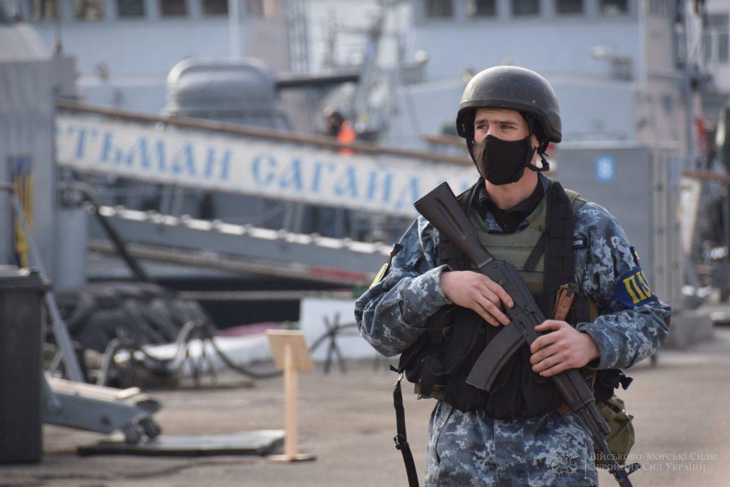 Навчання ВМС. Листопад 2020. Фото: ЗСУ