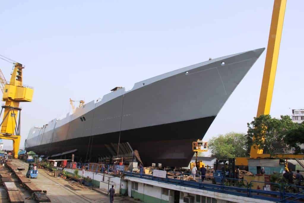 Корабель «Visakhapatnam» (D66) ВМС Індії. Фото з відкритих джерел
