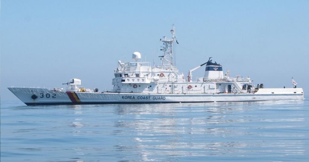 Колишній патрульних катери ВМС Кореї класу «Haeuri» з номером 302. Корея подарувала Еквадору патрульні кораблі