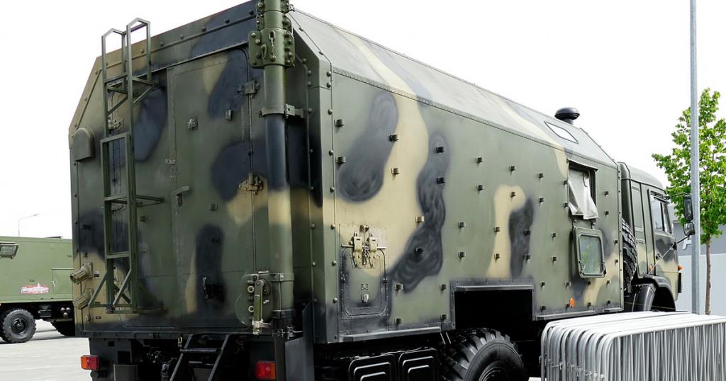 Наземна станція керування комплексу «Наводчик2». 2019 рік. Фото з виставки РФ «Армия-2019»