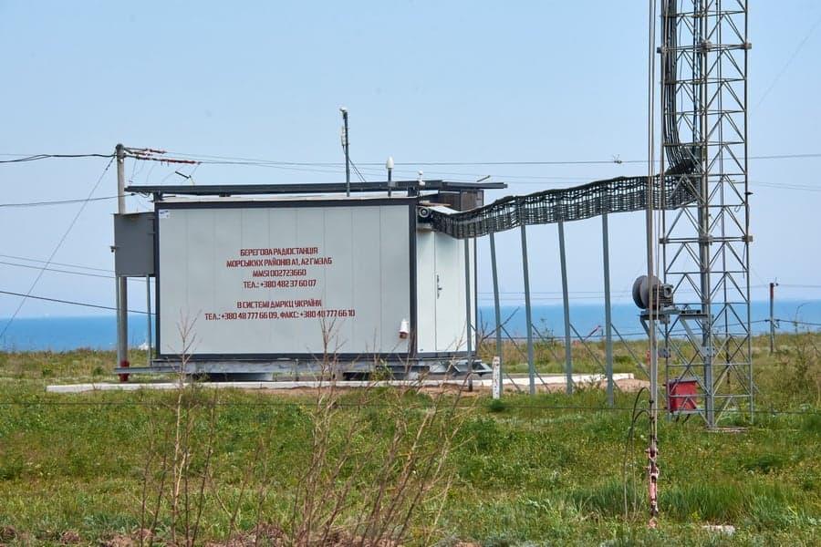 Берегова радіостанція морських районі А1 та А2 ГМЗЛБ в системі ДМРКЦ України