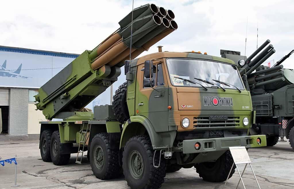 Бойова машина 9А52-4 РСЗВ «Смерч»