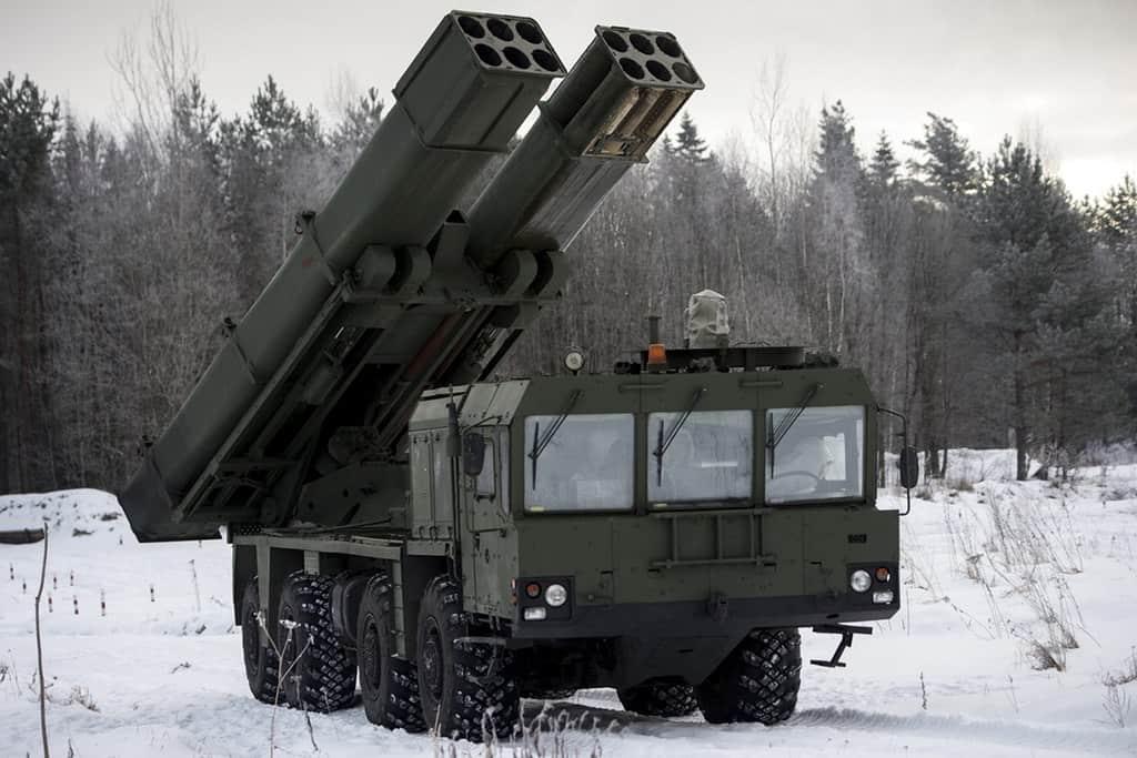 Бойова машина 9А53 РСЗВ 9К512 «Ураган-1М»