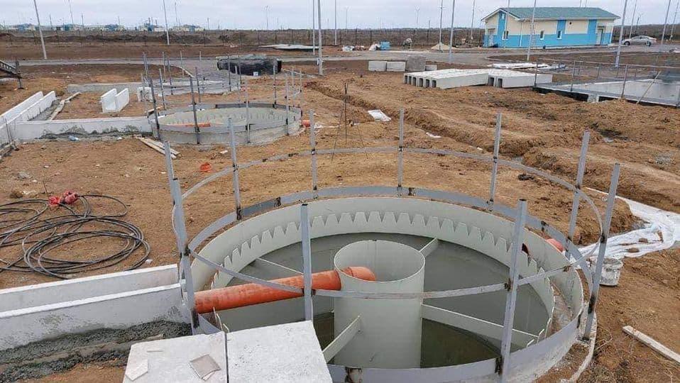 Будівництво очисних споруд на полігоні «Широкий Лан»