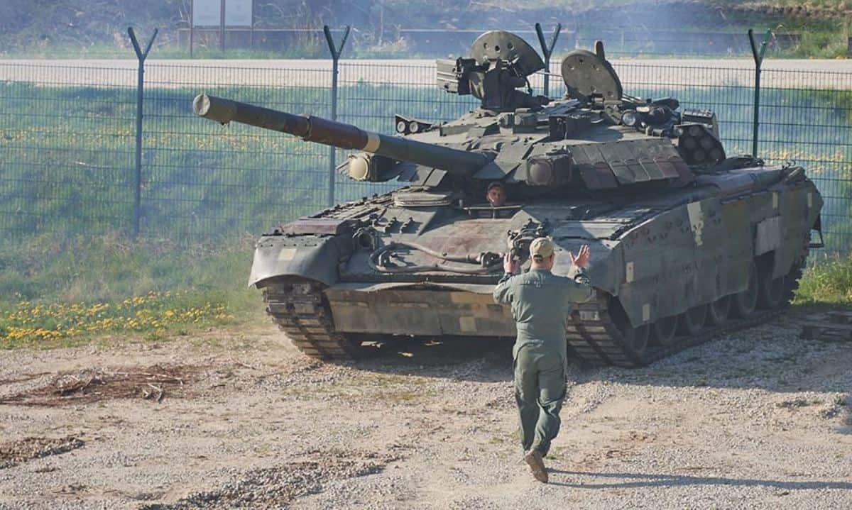 Український танк Т-84 у Німеччині для змагань на Strong Europe Tank Challenge 2018
