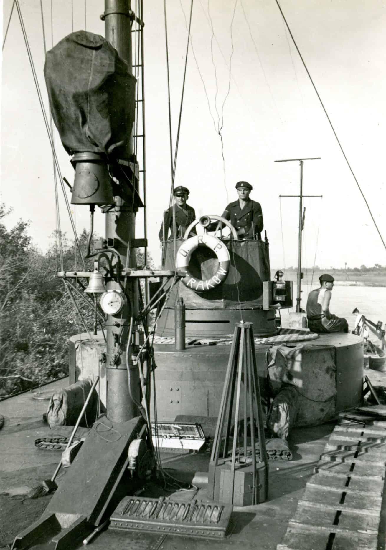 Екіпаж річкового монітору Krakow