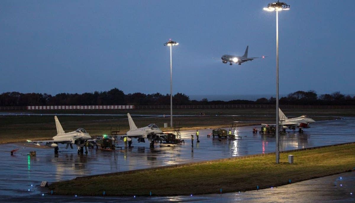 Четвертий Р-8A «Poseidon» Великої Британії. Листопад 2020. Фото: ЗМІ Британії