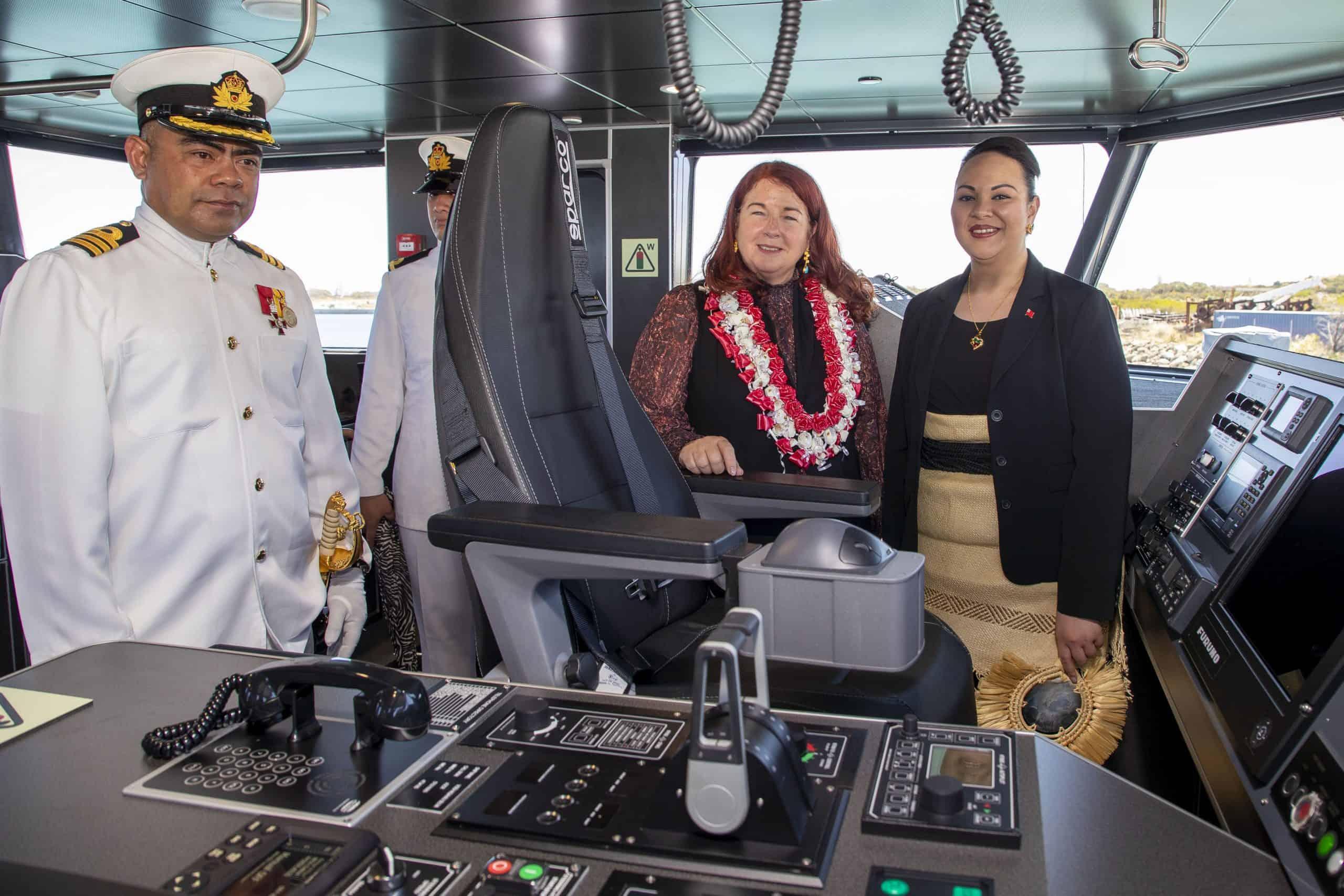 Королівство Тонга отримало патрульний катер Guardian. Фото: ЗМІ Австралії