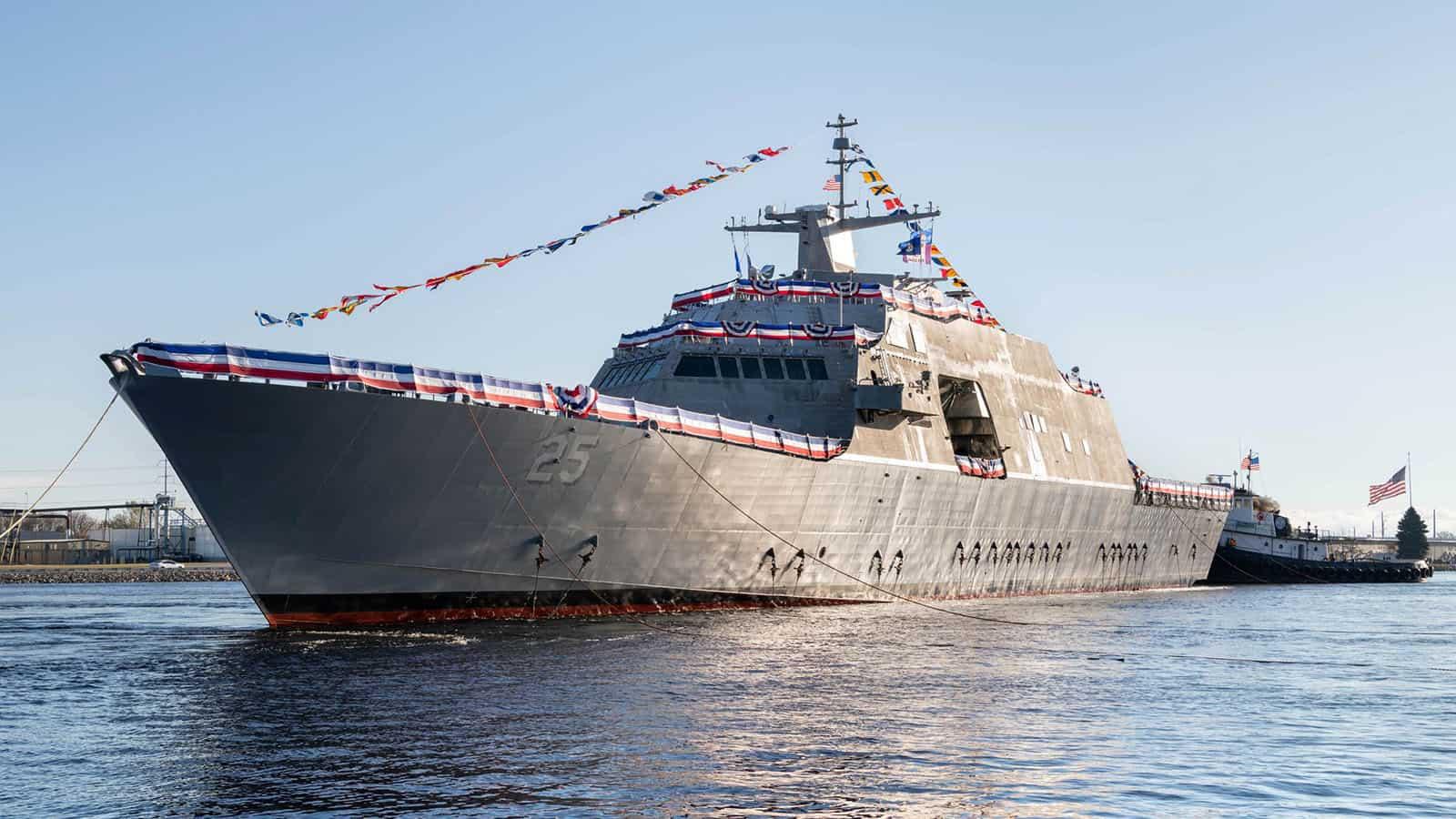 Корабель USS Marinette типу Freedom. Листопад 2020. Фото: Lockheed Martin