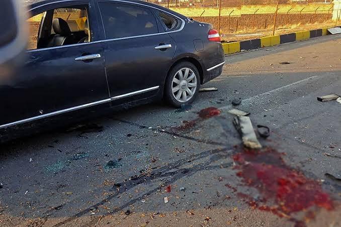 В Ірані вбили провідного фізика-ядерника країни. Місце нападу на Мохсена Фахрізада. Фото: ЗМІ Ірану