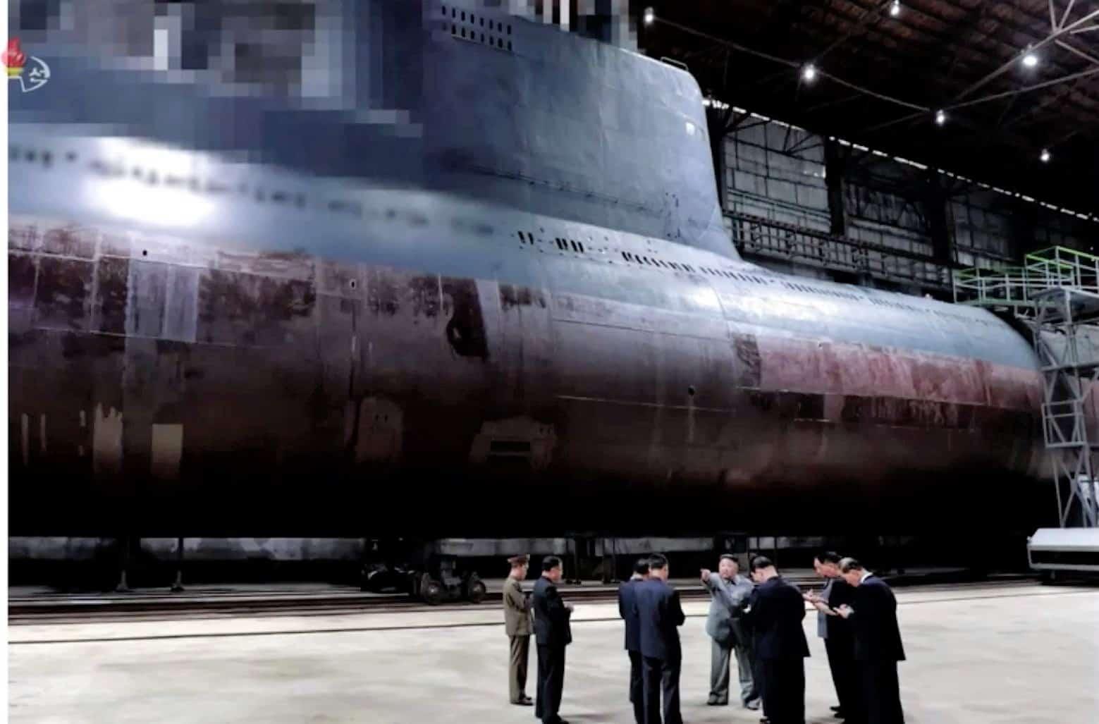 Модернізація субмарини класу Romeo у КНДР