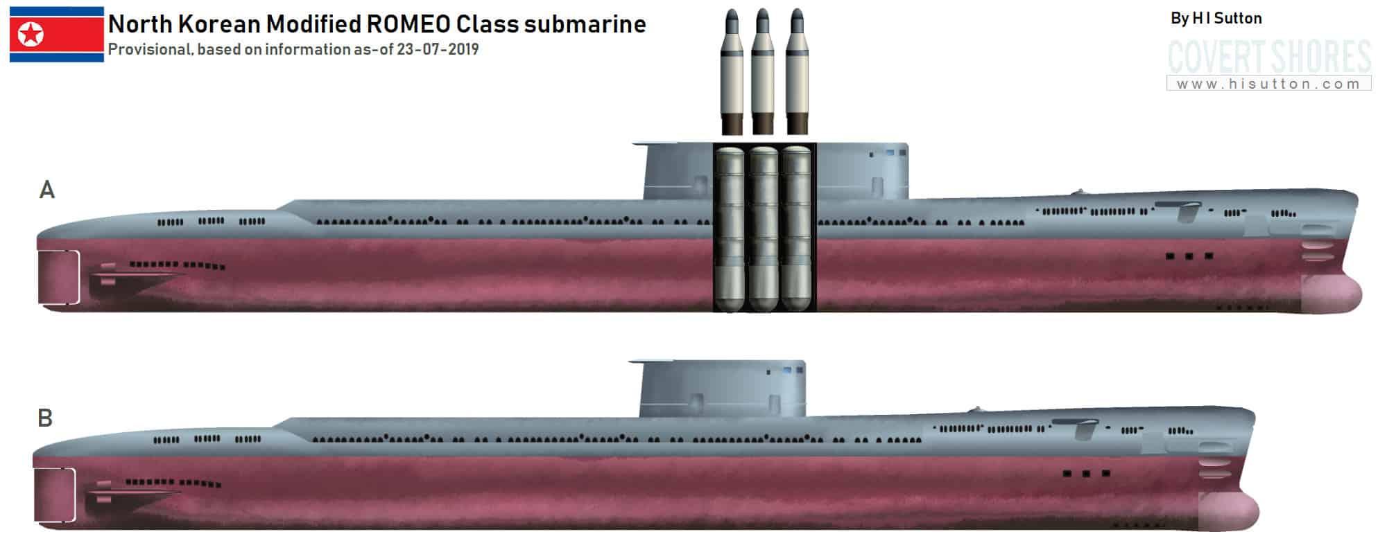 Модернізований варіант субмарин класу Romeo