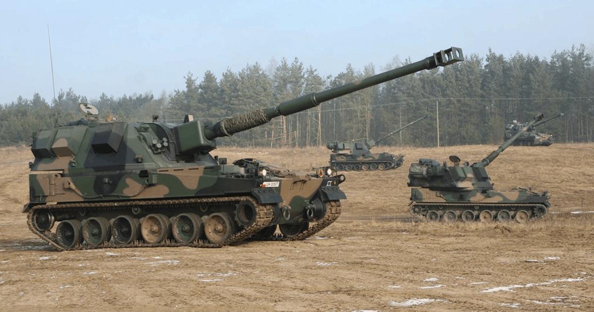 Військові Польщі отримали 6000 боєприпасів 155-мм. 155-мм САУ Krab. Фото з відкритих джерел