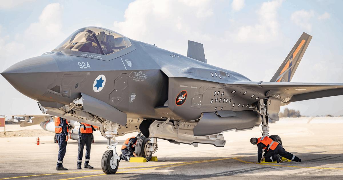 Винищувач F-35I Adir Військово-повітряних сил Ізраїлю. Листопад 2020. Фото: ВПС Ізраїлю