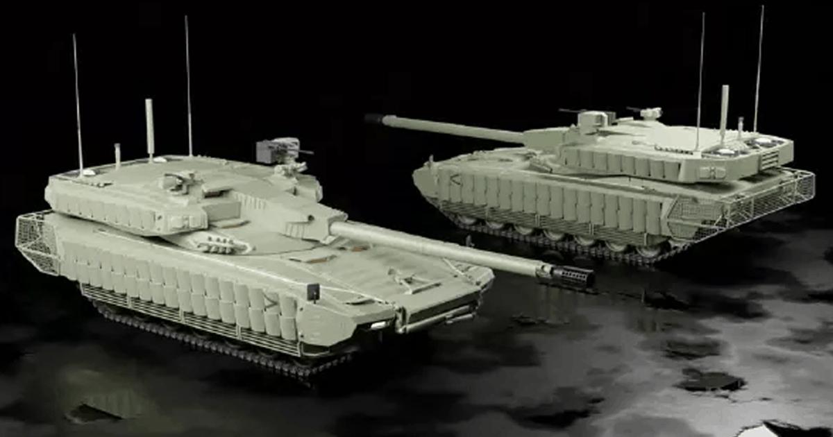 В США показали концепты новых танков