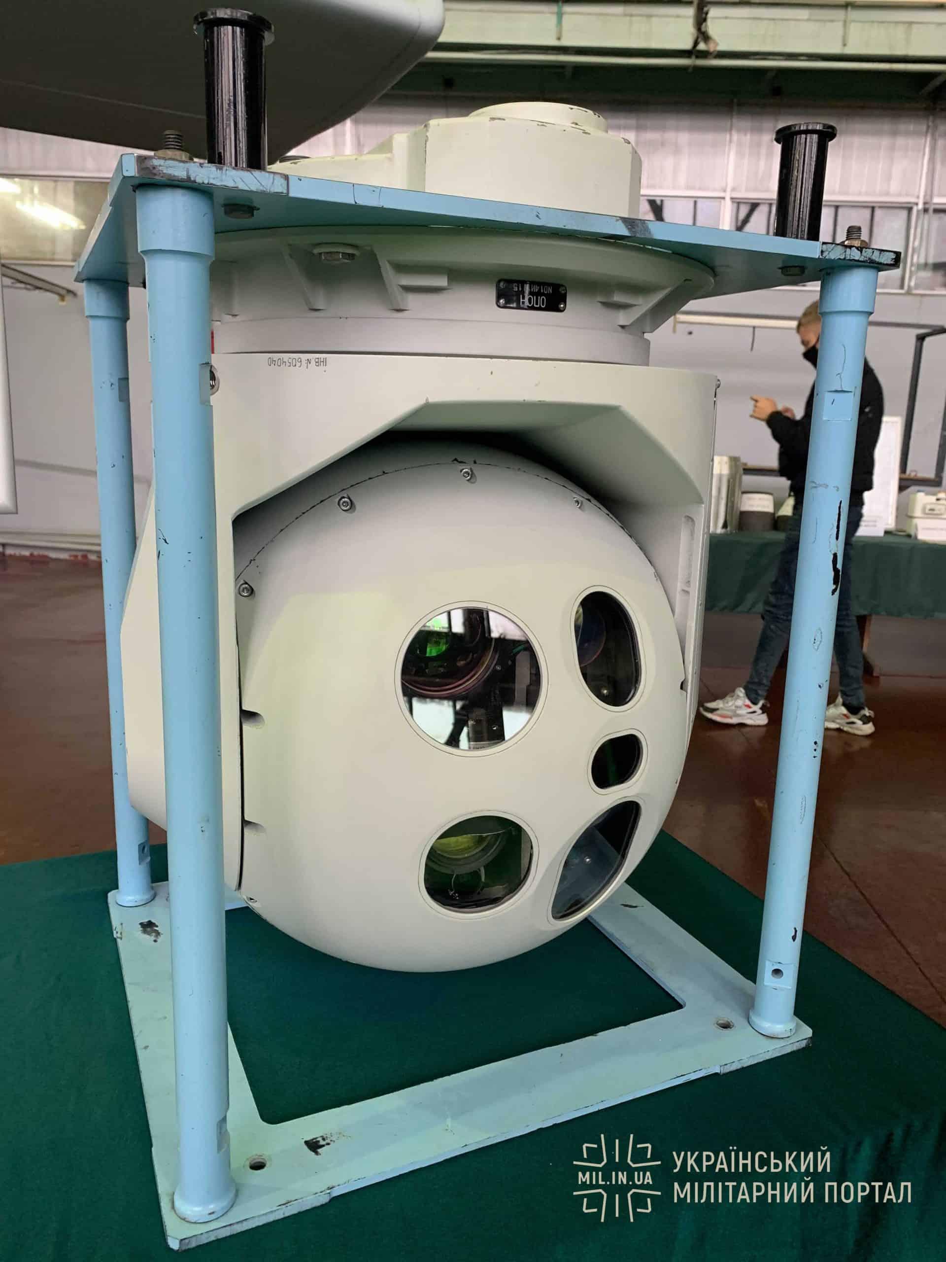 Оптико-електронна стація для БПЛА «Сокіл-300»