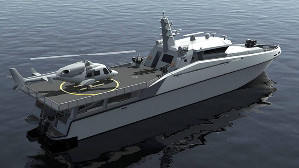 Патрульний катер Ares 150 SAT