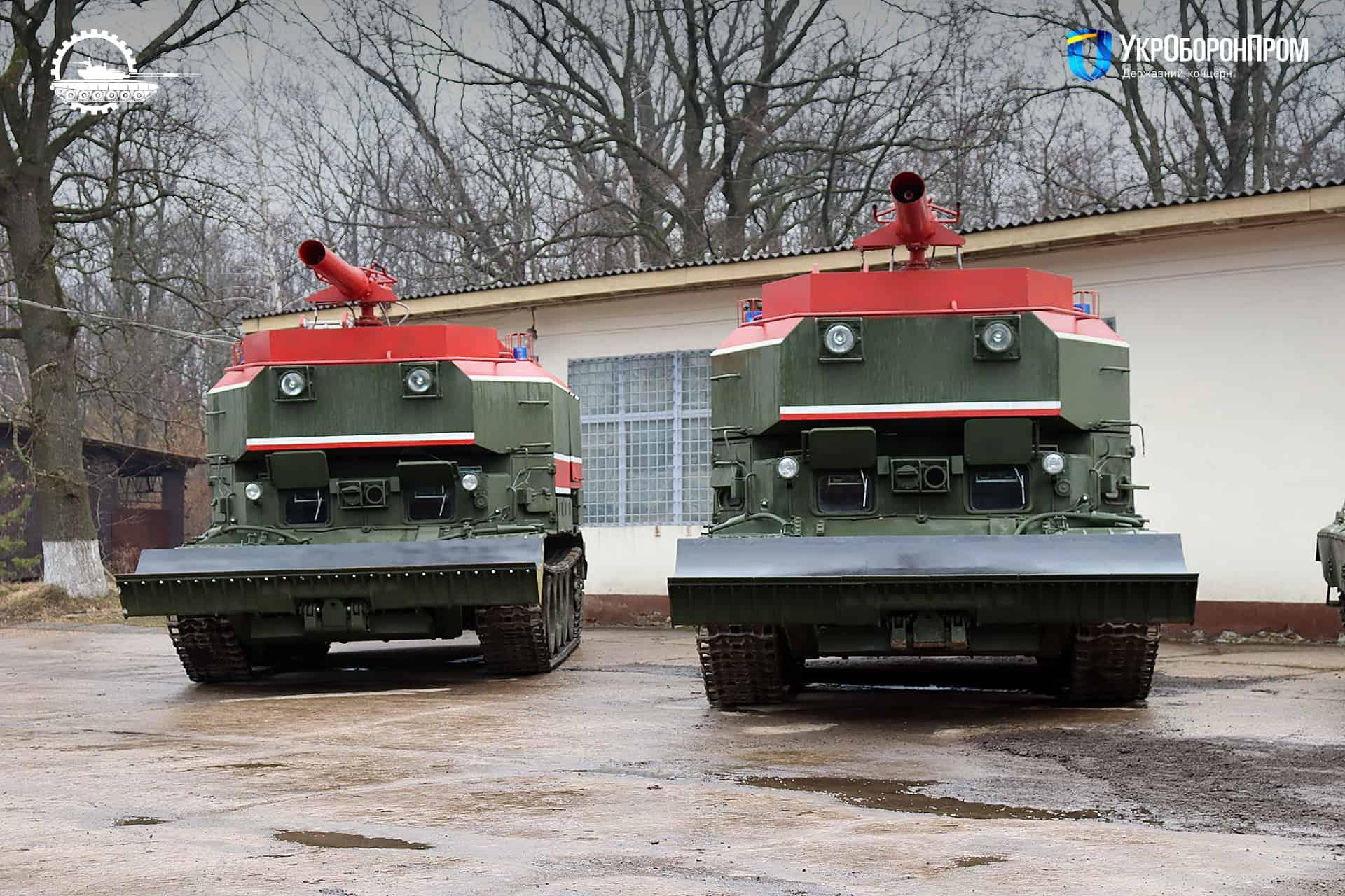 Пожежні танки ГПМ-54
