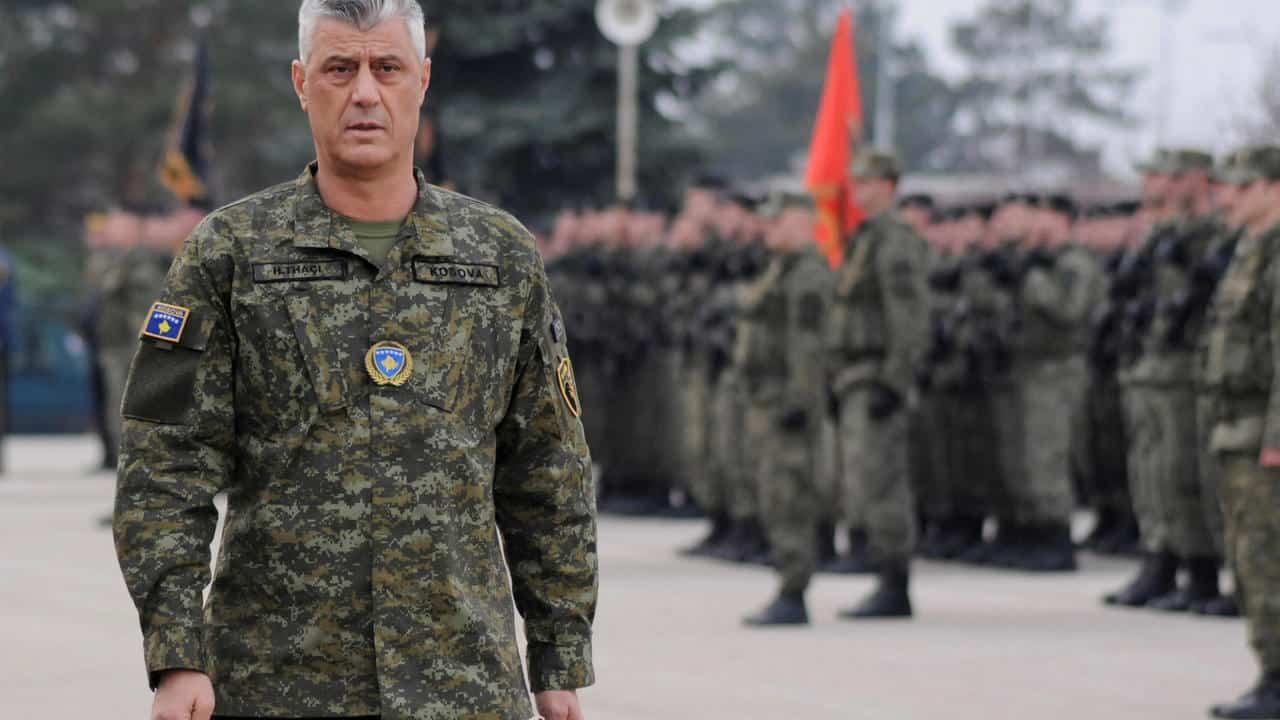 Президент Косово Хашим Тачі