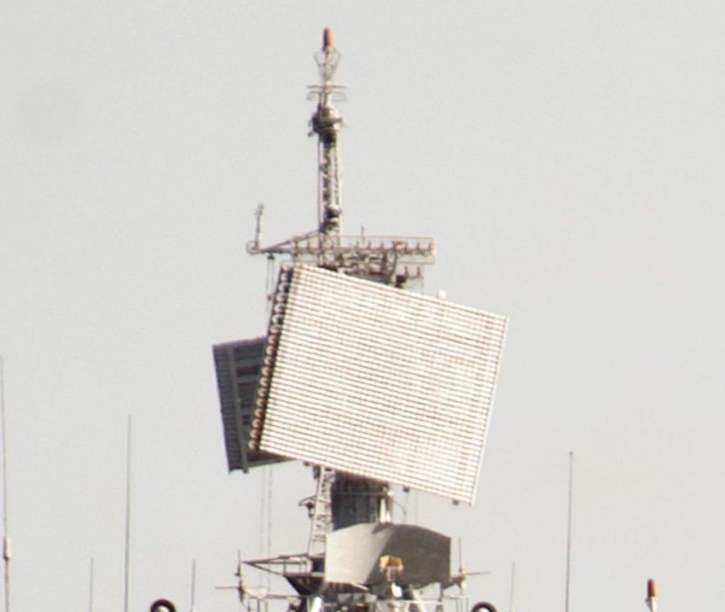 РЛС «Фрегат-МА» на фрегаті «Гетьман Сагайдачний»