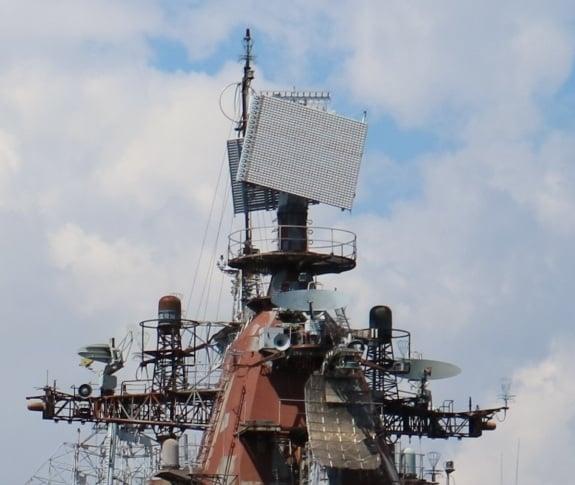 РЛС «Фрегат-МА» на недобудованому кораблі проєкту 1164