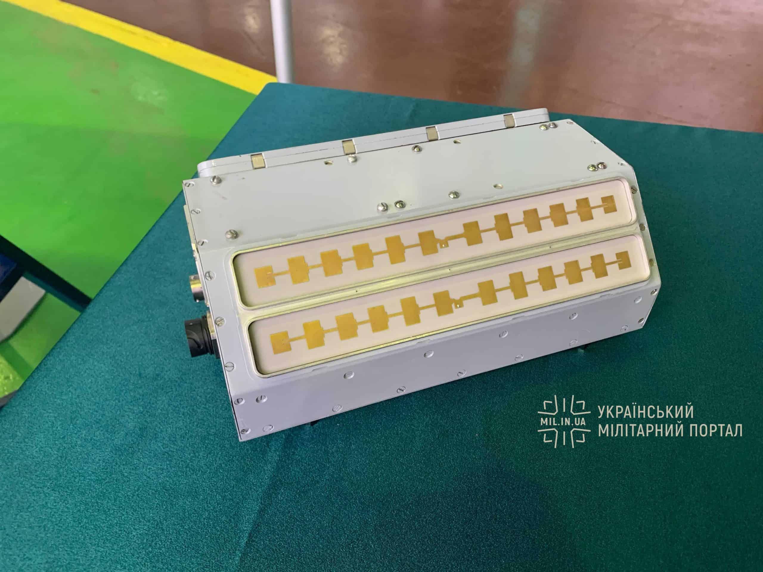 Радіолокатор з синтезованою апаратурою для БПЛА «Сокіл-300»