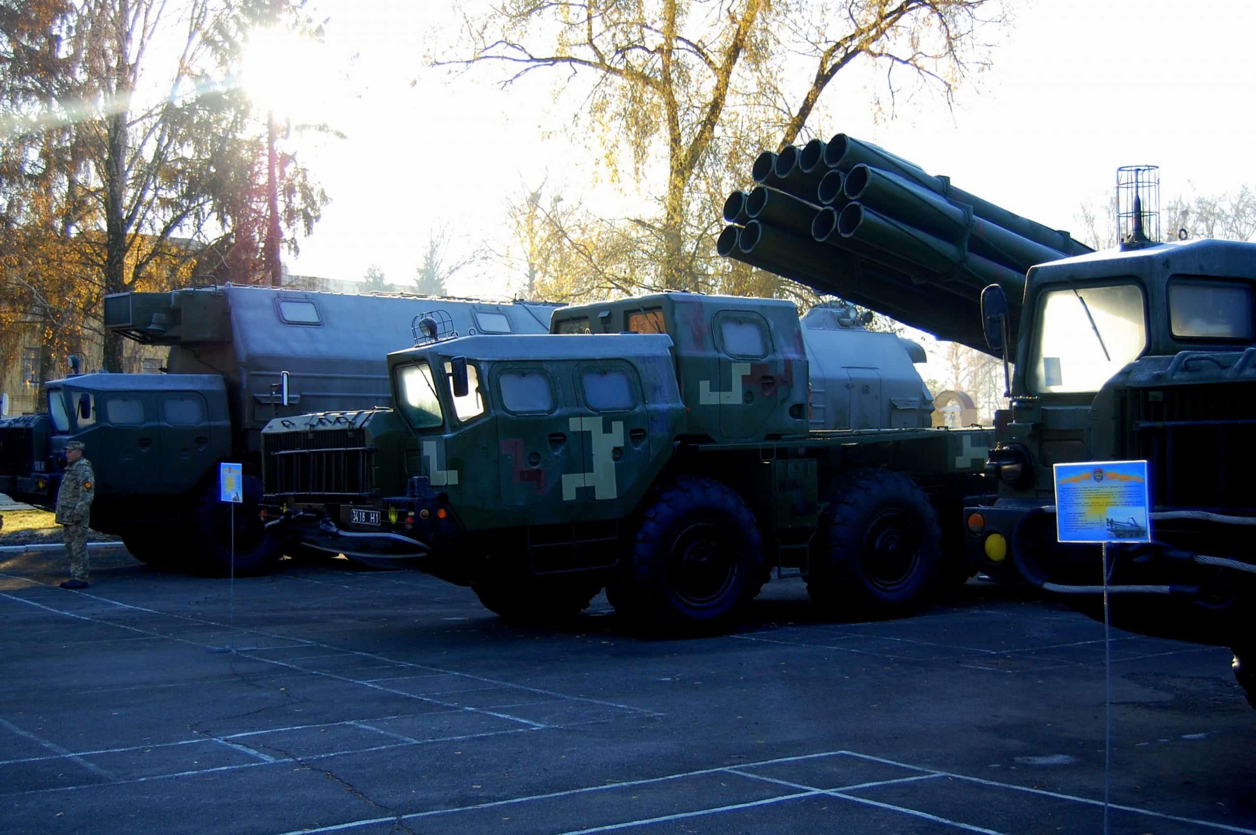 Ракетний комплекс «Вільха» під час урочистостей до дня створення 19-ї ракетної бригади