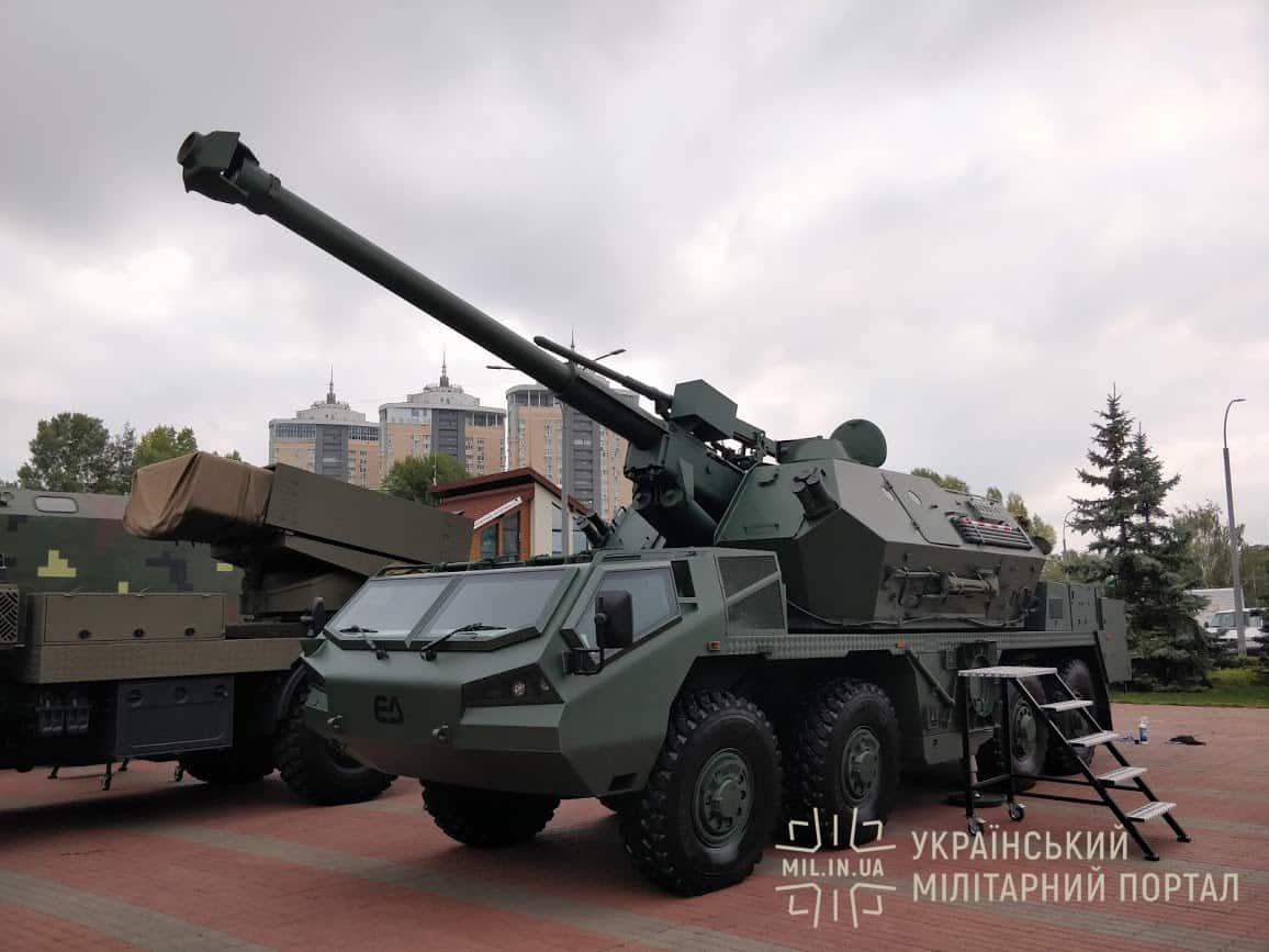 САУ DANA-M2 на «Зброя та безпека - 2018»