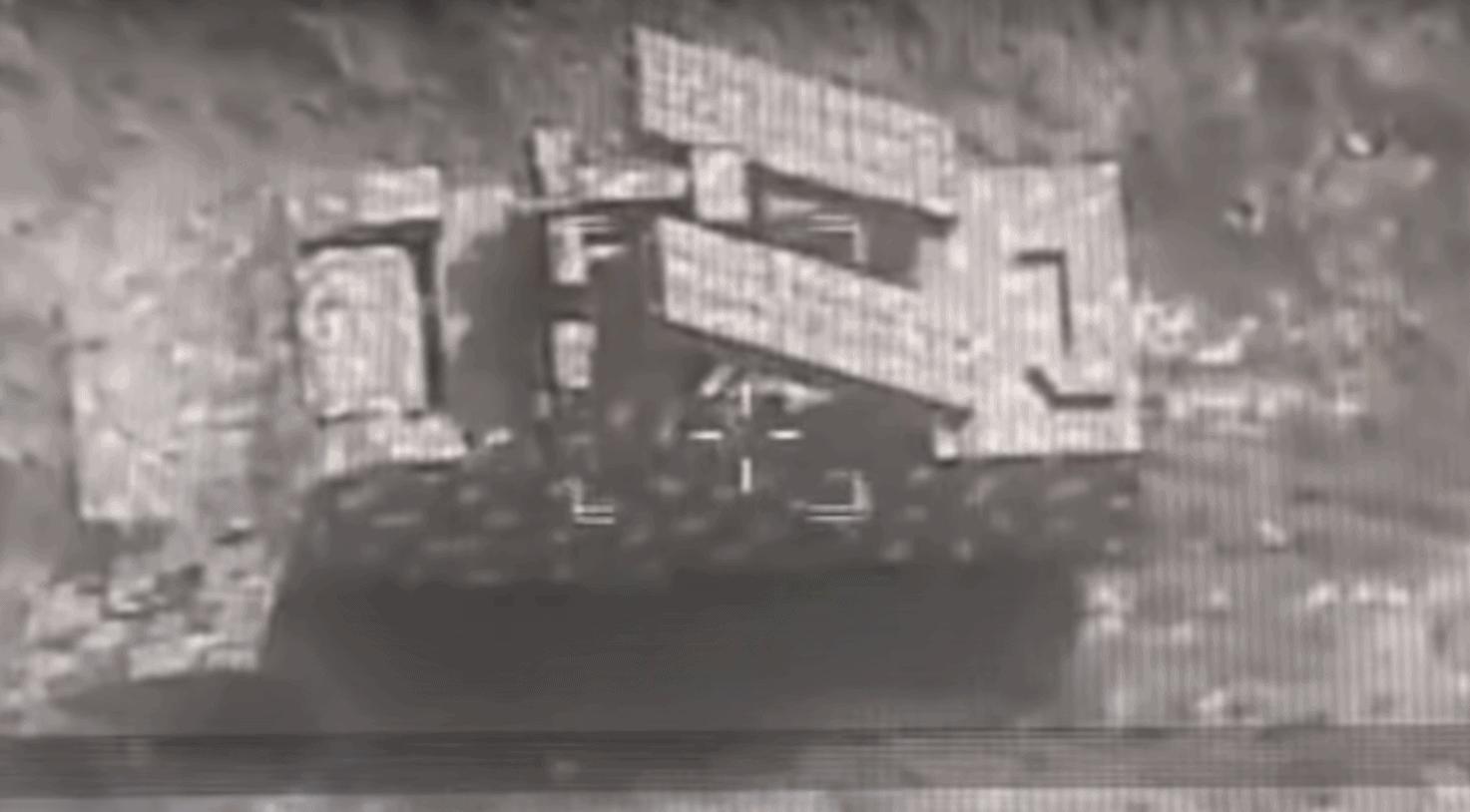 Макет «Оса-АКМ» у Нагірному Карабасі Стопкадр з відео МО Азербайджану