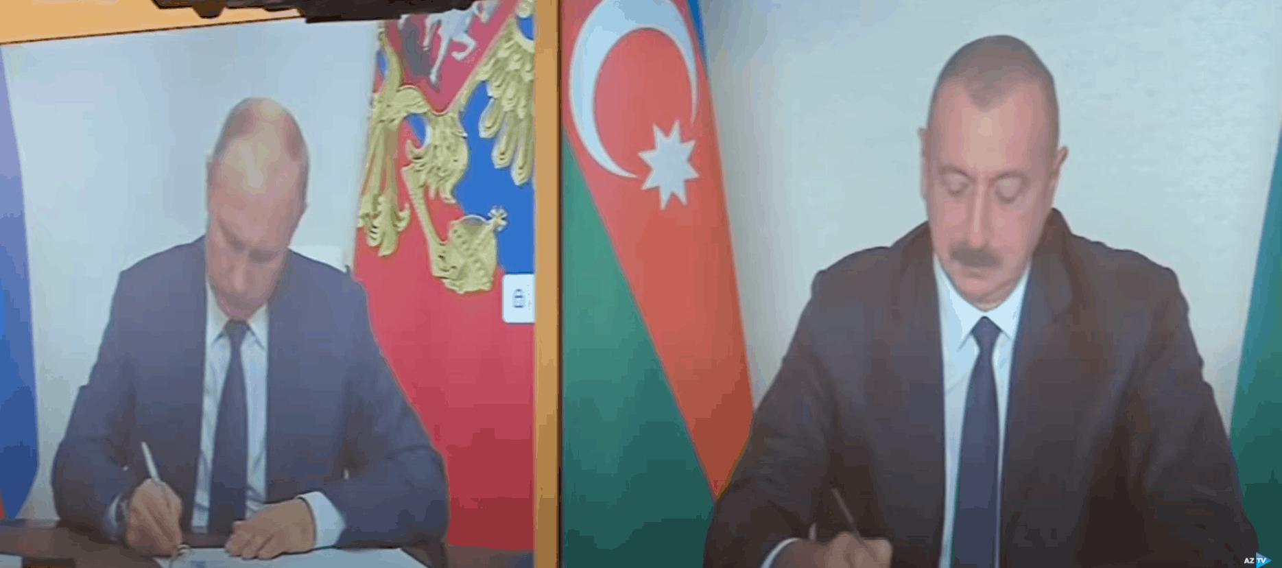 До Нагірного Карабаху зайдуть миротворці Росії та Туреччини. Підписання документу по Нагірному Карабаху