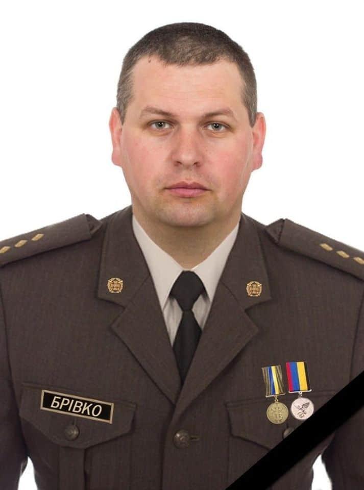 Старший лейтенант Олександр Брівка