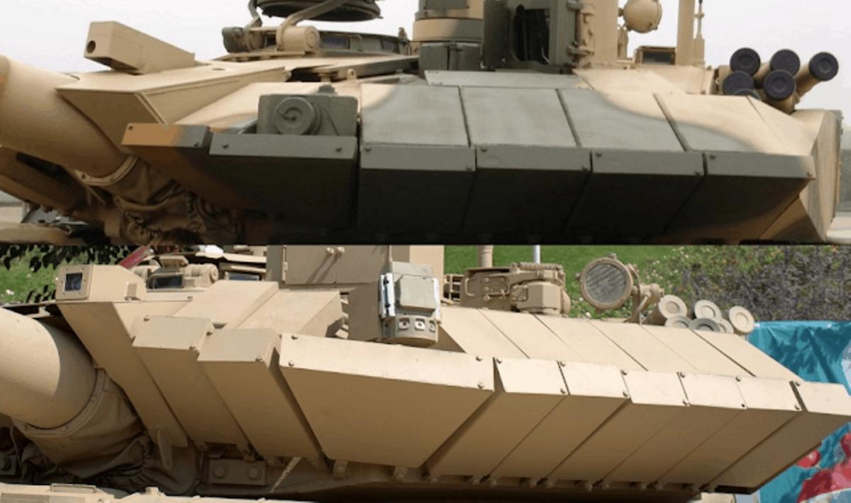 Порівняння Т-90МС і «Karrar»
