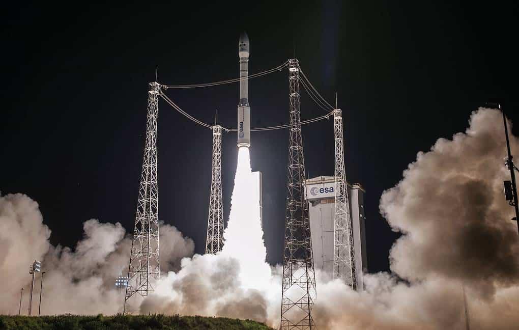 Запуск ракети-носія Vega