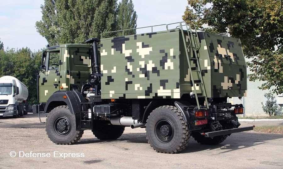 Автоцистерна АЦПВ-6 на шасі МАЗ-5434. Фото: Defence Express