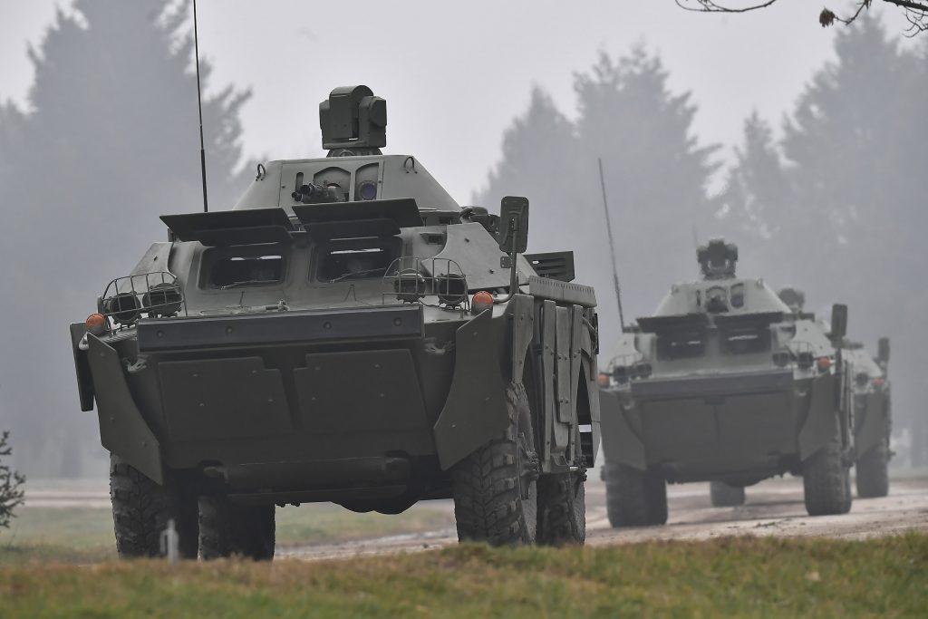 БРДМ-2МС Збройних сил Сербії. Листопад 2020. Фото: МО Сербії