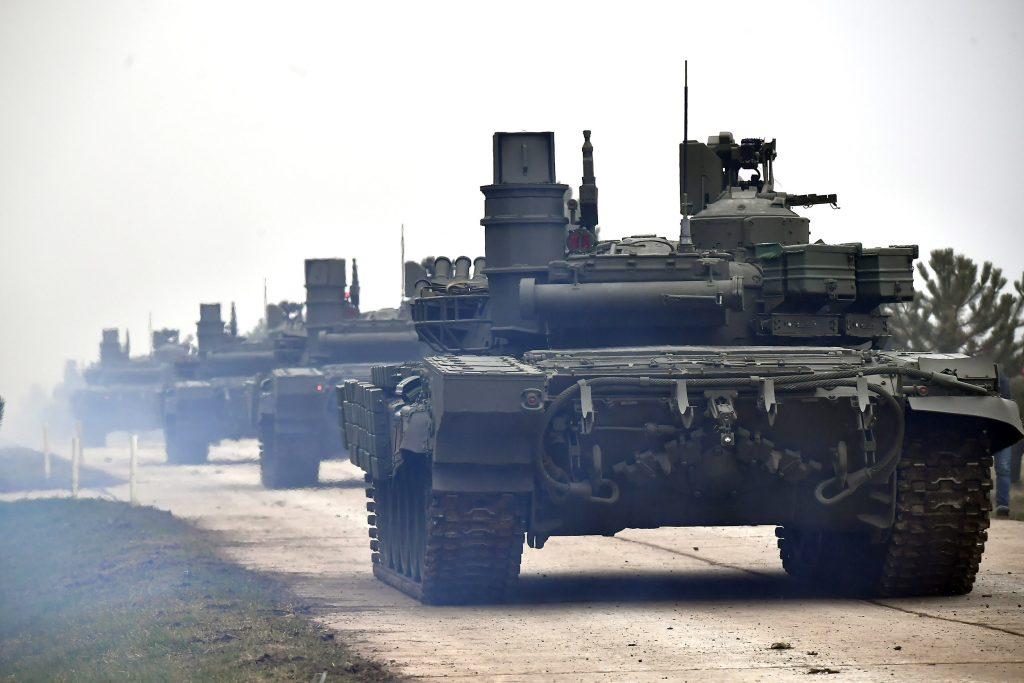 Танки Т-72МС Збройних сил Сербії. Листопад 2020. Фото: МО Сербії