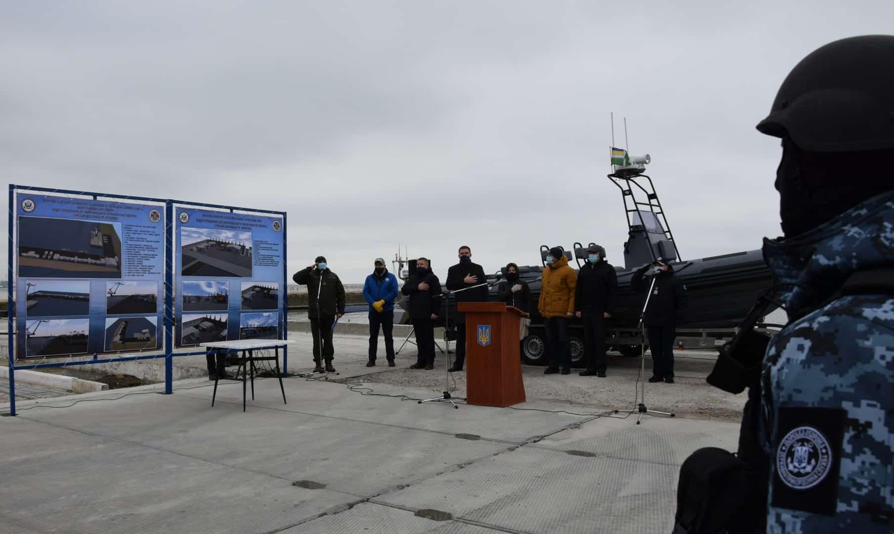 Презентація проєкту будівництва військового модульного містечка у Маріупольському загоні Морської охорони