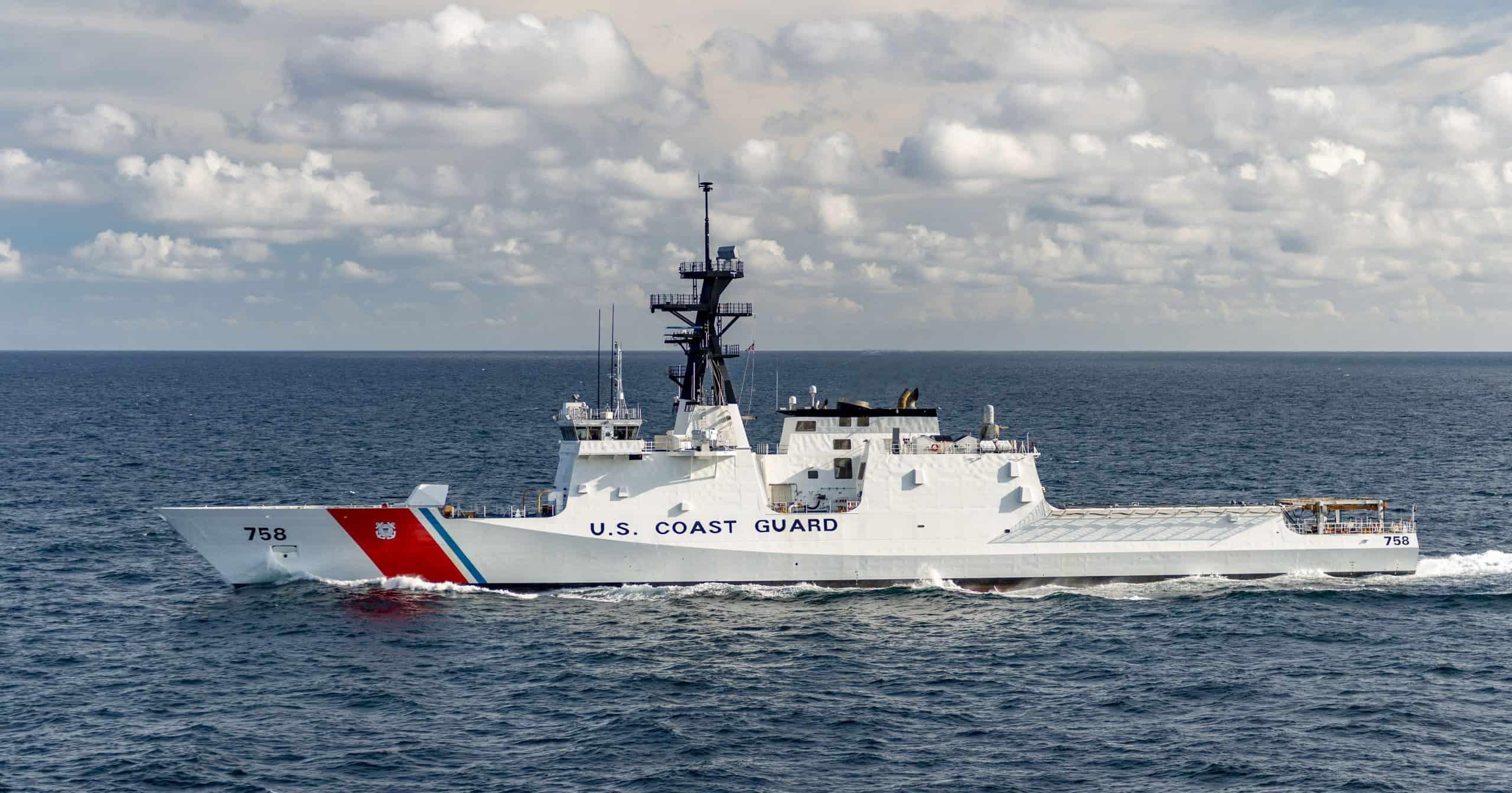 Патрульний корабель WMSL-758 «Stone» класу «Legend». Фото: ЗМІ США