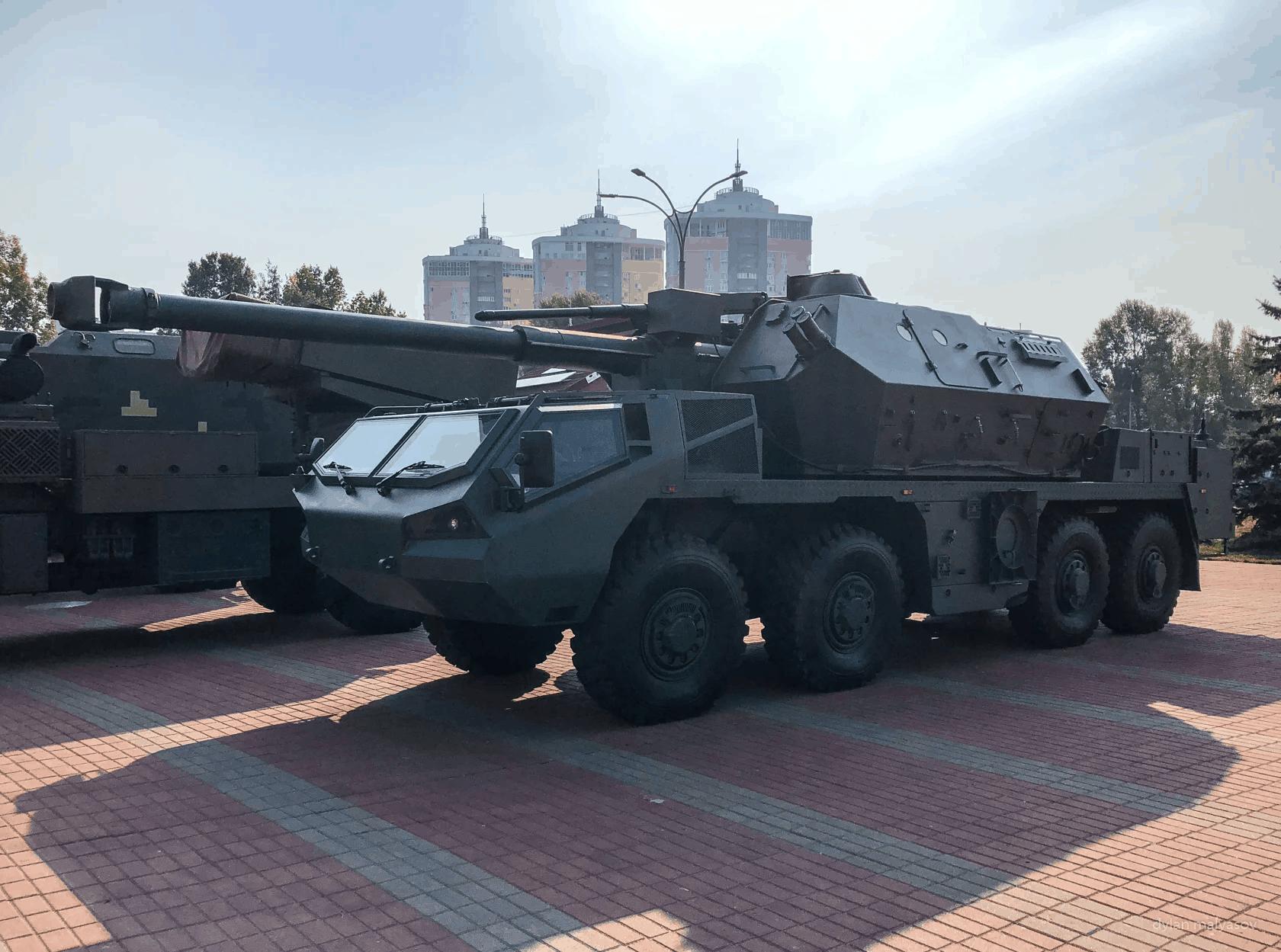 САУ DANA M2 на виставці «Зброя та безпека 2018»
