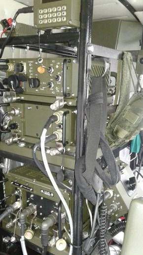 Комплекс засобів зв'язку і передачі даних на БМ-21Б РСЗВ «БелГрад-2». Грудень 2020. Фото: ДВПК Білорусі