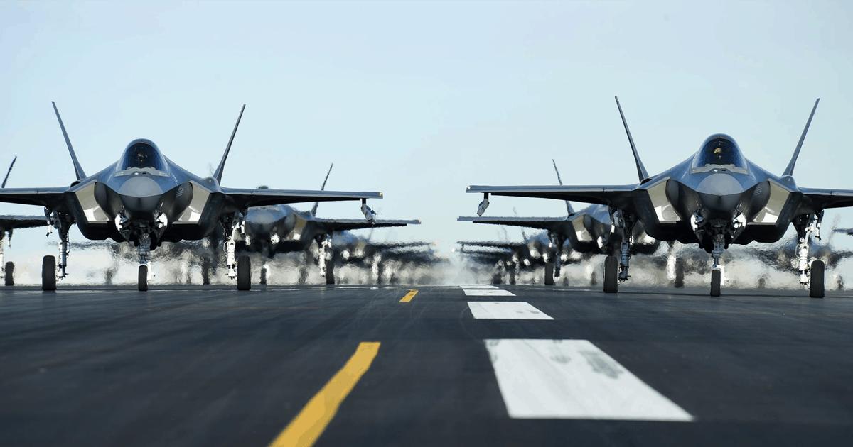 Винищувачі F-35. 2020 рік. Фото: ПС США