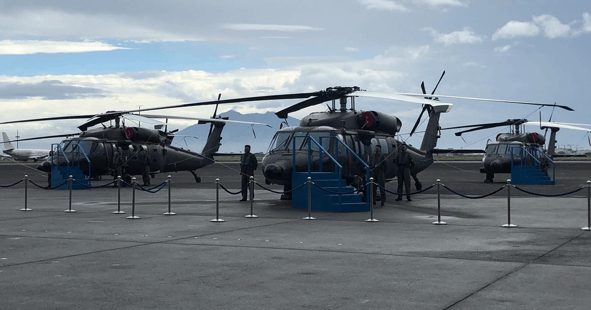 Вертольоти Sikorsky S-70i International Black Hawk ВПС Філіппін. Грудень 2020. Фото: ЗМІ Філіппін