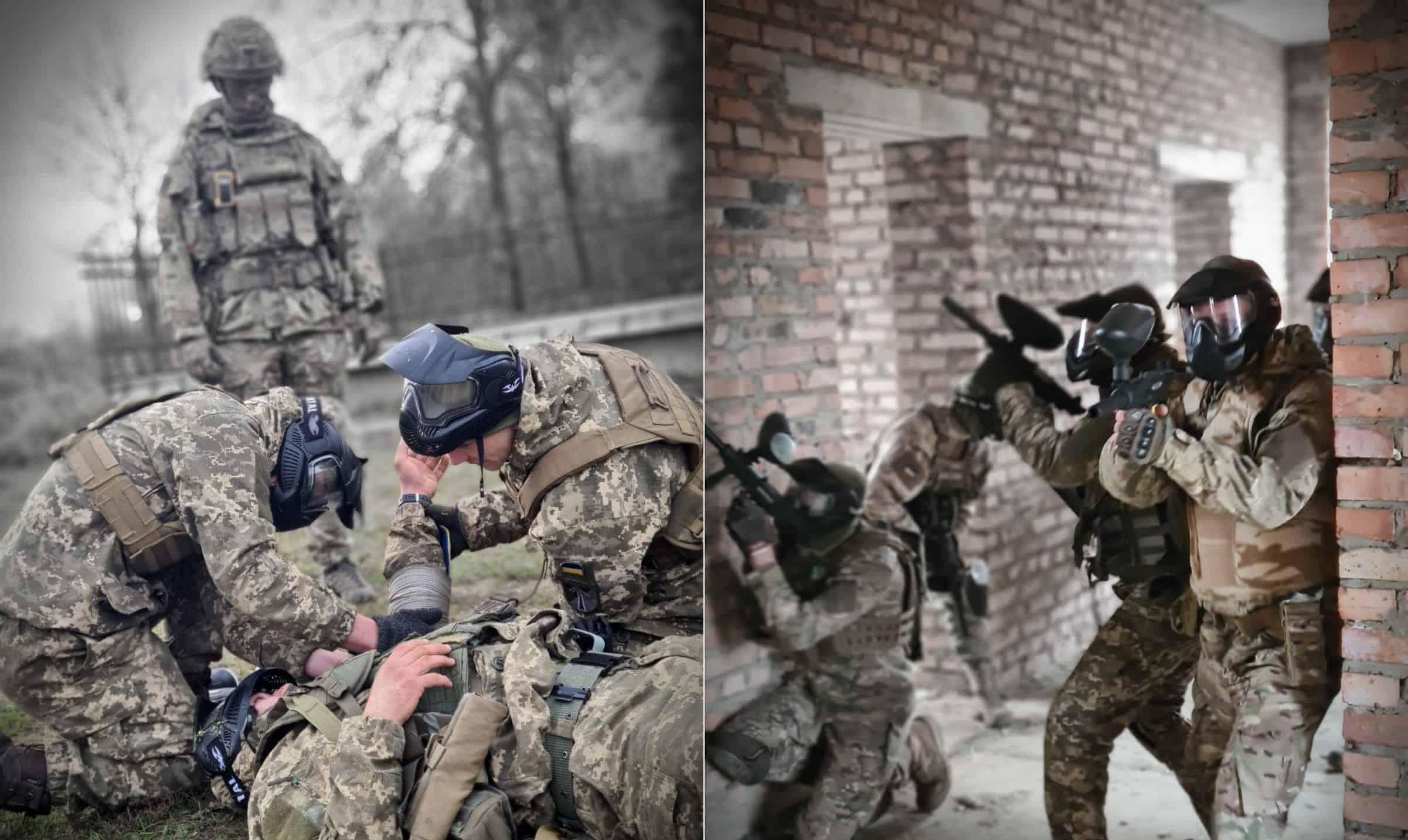 Британські інструктори провели тренування ЗСУ. Грудень 2020. Фото: МО України